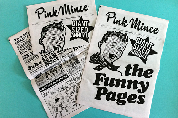 Pink Mince 7: The Funny Pages