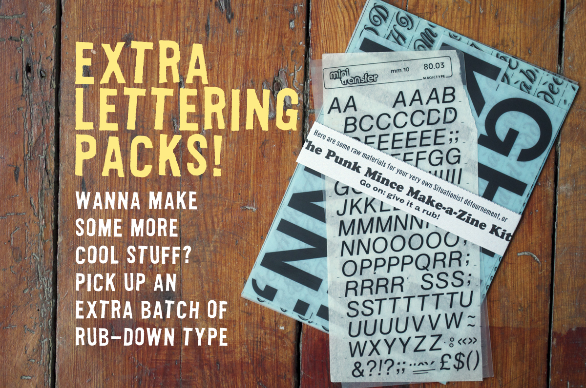 Extra Lettering Packs